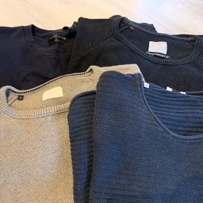 3 selected og 1 Zara trøje. 50kr stk Som nye da de er brugt 1 gang