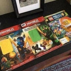 Lego Ninjago tegneserier -fast pris -køb 4 annoncer og den billigste er gratis - kan afhentes på Mimersgade 111 - sender gerne hvis du betaler Porto - mødes ikke andre steder - bytter ikke