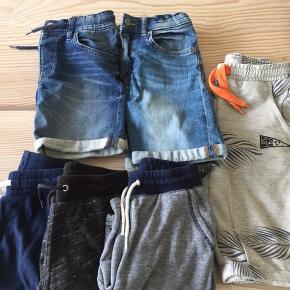 6 par gode shorts - alle i str 128.  Køber afholder udgiften til Porto.