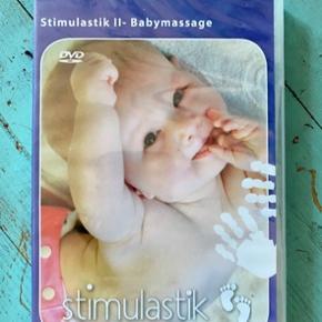 Stimulastik babymasage dvd  - fast pris -køb 4 annoncer og den billigste er gratis - kan afhentes på Mimersgade Kbh n - sender gerne hvis du betaler Porto - mødes ikke ude i byen - bytter ikke