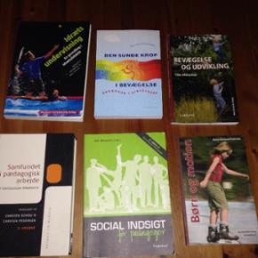 Bøger til pædagogik uddannelse.. Byd gerne:)