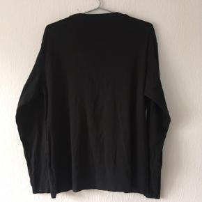 Sort Kappa langærmet t-shirt bluse, str. L/42