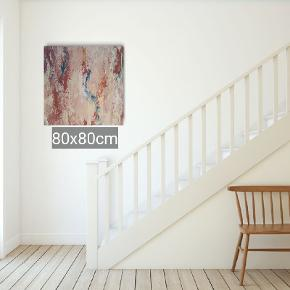 Så er det et nyt maleri fra Art By Rohmann i str 80x80 med fine detaljer og rolige sarte farver. Der er stadig mulighed for at få tilføjet ekstra af den farve du ønsker. Art By Rohmann har mange udstillinger bag sig samt bestillinger efter kundens ønske om farver og størrelse.