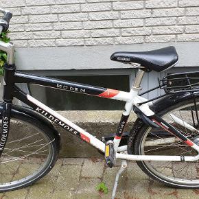 Drengecykel Kildemoes Bikers Colibri 26 tommer 10-12 år 7 gear Refleks på dækkene og i pedalerne Har brugsspor Skal have nyt gearkabel derfor prisen.