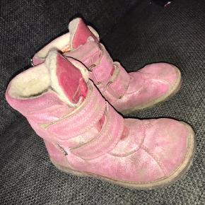 Rap tex vinterstøvler lyserød  pink glimmer 31 uld foer nypris 998 trænger lige til en klud ;) støvler