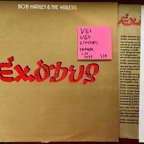 Bob marley exodus vinyl lp plade fransk sjælden super stand