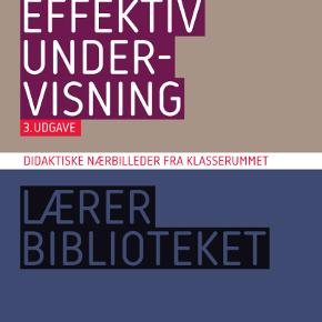 Effektiv undervisning  3. udgave, 2. oplag  Ny pris: 350,- Din pris: 200,-  Har andre bøger til salg, som bruges på læreruddannelsen KLM og dansk.   Køber betaler porto (40,- DAO) eller kan medbringes til Hobro eller Aars.