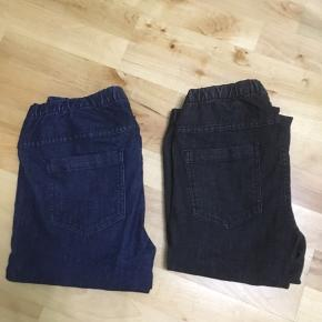 Rigtig flot god kvalitet 2 stk leggingsbukser med 2 lommer bagved og elastik ved bælte Jeg har før fra pieces brugt kun 15 minuttet men det var for meget stram til mig men aldrig brugt alligevel. Der er mørkeblågrå og sortgrå farve. Frit valg sælges 100kr. Jeg har målt  bred ved bælte side til side 35cm plus bagved 35cm i alt 70cm. Længe 103cm. Str er  M/L men passer meget mere S/M 38/40 og S 38 og de passer til begge str pga de er små str end normal strølse. De sidder godt og tet på kroppen i god form og begge  er flotter end på billeder pga har dårlig foto lys sælges hurtig pga har ikke plads til. I må godt kom forbi og kigge prøve eller kan sagtens sende hvis i selv betaler for porto og brevkuvert
