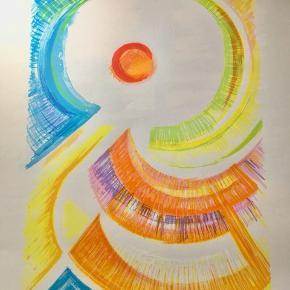 Farvelitografi af ubekendt kunstner  Størrelse:  Papir: 54x76 cm.  Værk: 36x52 cm.  Ikke indrammet  Sender gerne 📦  Tilbyder professionel indramning med passe partout til meget fornuftige priser.   Mangler du nyt original kunst til væggene, så hold dig ikke tilbage med at spørge. Har 1000+ værker af anerkendte kunstnere i forskellige størrelser, farver og motiver.