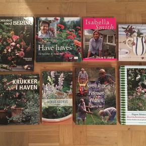 Havebøger sælges samlet for 40kr