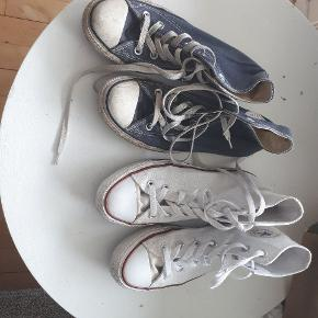 Hvidr Converse. Fejler intet. Str. 38
