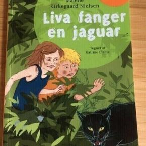 Liva fanger en Jaguar  Læs selv bog -fast pris -køb 4 annoncer og den billigste er gratis - kan afhentes på Mimersgade 111 - sender gerne hvis du betaler Porto - mødes ikke andre steder - bytter ikke