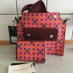 💕💕Never worn matching bag and small wallet . New collection ByMaleneBirger 🌸🌸🌸