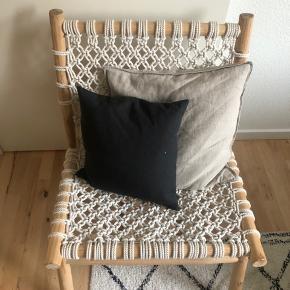 Lene Bjerre håndlavet designer flet stol
