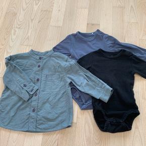 Norlie skjorte og bodyer fra Friends og H&M - sælges samlet
