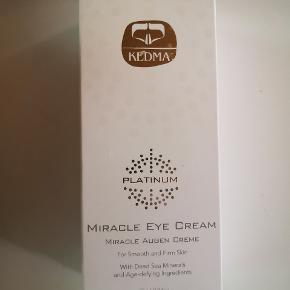 Helt ny ubrugt  Kedma platinum miracle eye creme  Med mineraler fra det døde hav  Np 1500