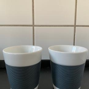 Bodum Canteen dobbeltvægget porcelænskrus. Brugt meget få gange og fremstår som nye. Sælges, da jeg har fået nye krus.