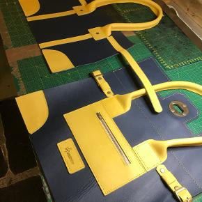 Læderprojektet skuldertaske