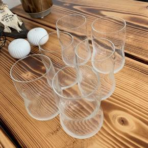 6 stk Holmegaard Future drikkeglas 25 cl. Sælges samlet 🙂
