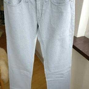 Acne jeans model Hep blue grey, I fin condition. Str. 27/34 Mp 325