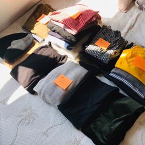 Tøj i forskellige str De fleste er ubrugt og resten som nye Fra dyrefrit røgfrit hjem Byd Køber betaler porto Mærker: ZARA osv.