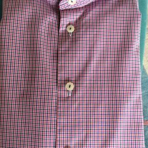 Eton skjorte. Slim str.40 100% bomuld