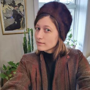 Flot vintage mink pels hue