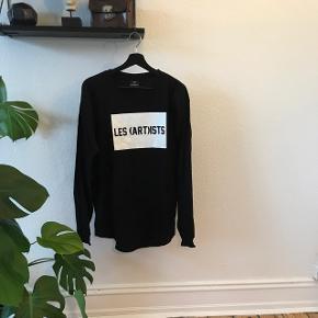 Les (Art)ists long sleeve t-shirt str. L  Helt Fin stand men brugt en del