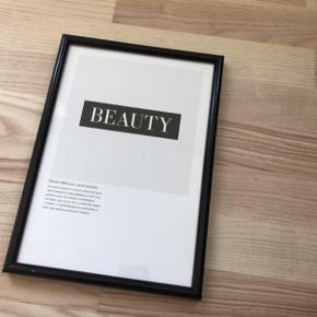 Plakat fra desenio uden ramme, måler 21x30 cm Np: 59kr