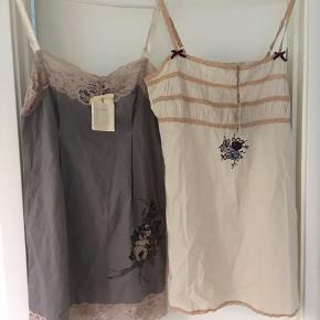 To stk toppe fra Odd Molly   Wunder underdress Grey , str 3, ny, købspris 799 Long wunderwear Chalk, str 3, ny købspris 899  Sælges for 200 pr stk