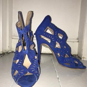 de smukkeste coboltblå stiletter fra ZARA 🔥