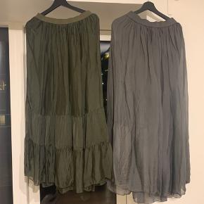 Tiffany silke nederdele. 200kr styk.