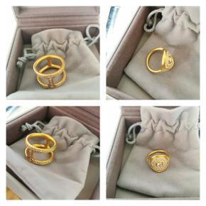 Julie Sandlau Mermaid ring Julie Sandlau Linea Double ring  Sælges eller byttes med andre smykker