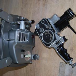 Brand: bolex zoom reflex p1, bolex paillard 18-5 Varetype: smalfilmskamera og projektor Størrelse: - Farve: -  smalfilms kamera bolex zoom reflex p1  bolex paillard 18-5 projektor   rigtig fin stand