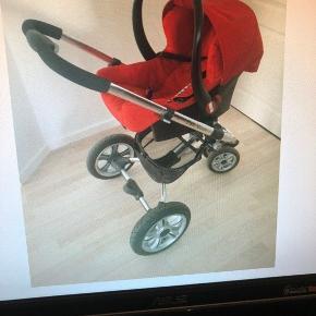 Sælger denne barnevogn. Fejler intet og brugt få gange