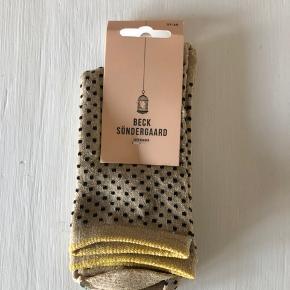 Glitter strømper fra Beck söndergaard Str 37-39