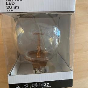 LED pære aldrig brugt - bred fatning.