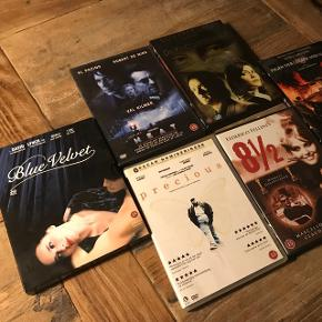 Prisen er for alle 6 film. Sælges KUN samlet Kan sendes med dao for købers regning