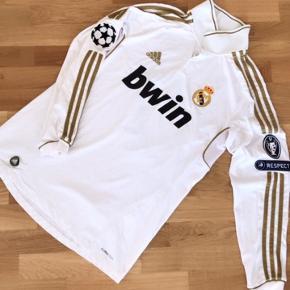 Real Madrid 2013-2014 hjemmebane Champions league trøje - Ronaldo