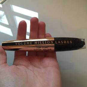 L'OREAL Volume Million Lashes Top Coat med glitter. Er åbnet men aldrig brugt. Køber betaler fragt