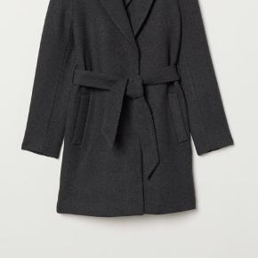 H&m frakke, brugt 1 gang, helt som ny fejler intet,  Nypris: 499 Sælges for: 90