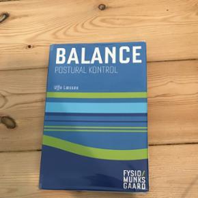 Balance postural kontrol, 1. Udgave. Få overstregninger ellers meget fin stand. Kan afhentes i Odense, Haderslev, Vojens eller sendes på købers regning
