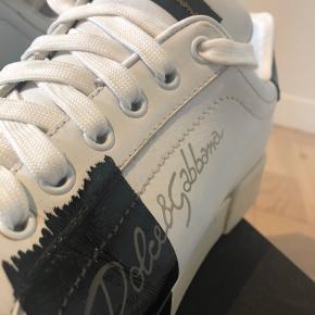 DOLGE & GABBANA sneakers  God men brugt str 40 Dustbag, bon og kasse høre med
