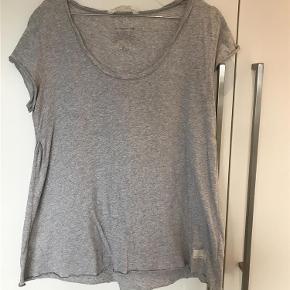 Varetype: T-shirt Størrelse: 3 Farve: Grå Oprindelig købspris: 500 kr.  Super fin Odd Molly T-shirt kun brugt 1 gang, så fremstår derfor som ny. T-shirten er lidt A-formet  Bomuld  Længde ca. 66 cm foran 70 cm bagpå  Brystmål ca 51 cm x 2 hele vejen rundt   BYTTER IKKE