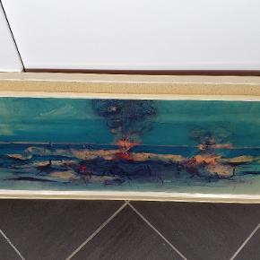 """Tryk fra firmaet Minerva af Lyonel Feininger """"skibe"""" skriv endelig ved spørgsmål 😀"""