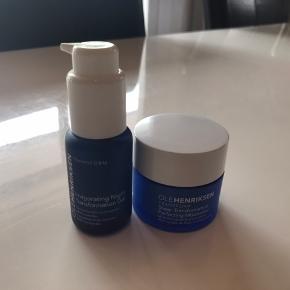Helt nye produkter. Invigorating Night gel: 30 Ml.  Transform Sheer Transformation: 30 ml. Sender gerne.
