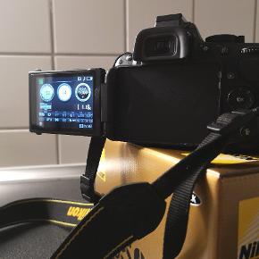 Nikon D5200 / taske og SD kort medfølger