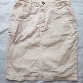 &Denim nederdel