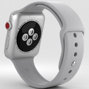 rigtig fint ur sælges da jeg har fået ny telefon som ikke er apple derfor kommer uret til at ligge på hylden.   Uret er brugt i et par måneder, derfor er der også brugstegn og mindre ridser (skriv gerne for billeder). Uret sælges med den originale grå rem og den originale oplader.   Byd gerne - har givet 2799,- da det blev købt sælger kun hvis rette bud kommer det foræres ikke væk