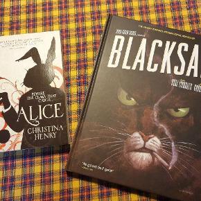Bog og tegneserie på engelsk. Alice in wonderland- 50 kr. Tegneserie - 150